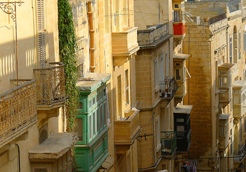 Valletta-city-steet