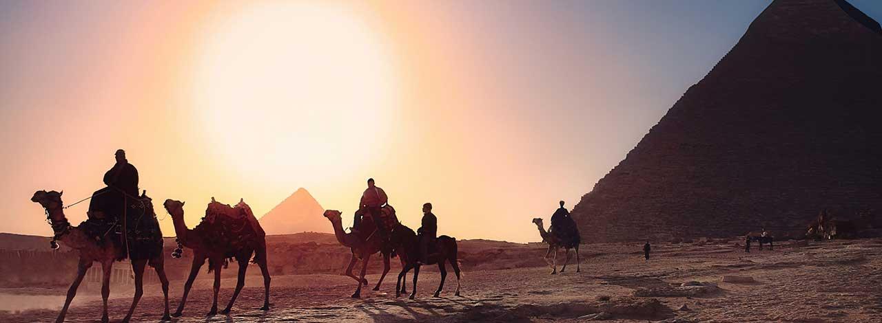 Escorted Egypt River cruise Pyramids